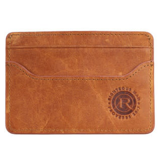 Card Holder - Righteous Man, Leather