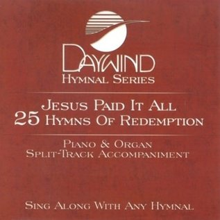 CD - Jesus Paid it All: 25 Hymns of Redemption, Piano/Organ Accompaniment Tracks