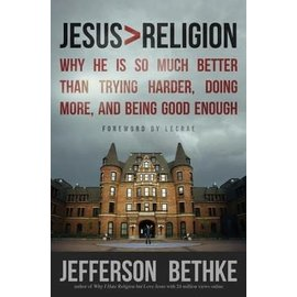 Jesus > Religion (Jefferson Bethke), Paperback