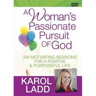 DVD - A Woman's Passionate Pursuit Of God (Karol Ladd)