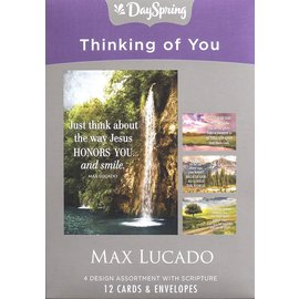 Boxed Cards - Thinking of You, Max Lucado