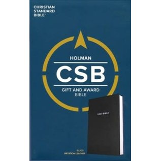 CSB Gift & Award Bible, Black Imitation Leather