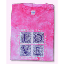 T-shirt - WD Love Endures, Pink
