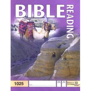 ACE School of Tomorrow: Bible Reading, Grade 3 (1025)