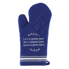 Oven Mitt - Love, Joy, Grace