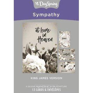 Boxed Cards - Sympathy, Black & White