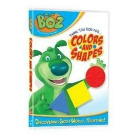 DVD - Boz: Thank You God for Colors and Shapes