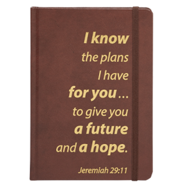 Journal - Jeremiah 29:11, Brown