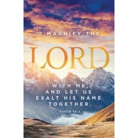 Bulletins: O Magnify the Lord