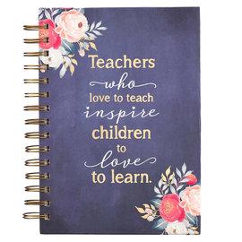 Journal - Best Teacher, Wirebound