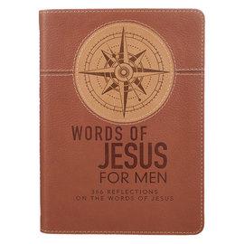 Devotional - Words of Jesus for Men, LuxLeather