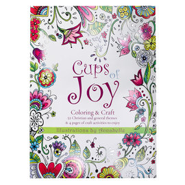 Coloring Book - Cups of Joy (Annabelle Grobler)