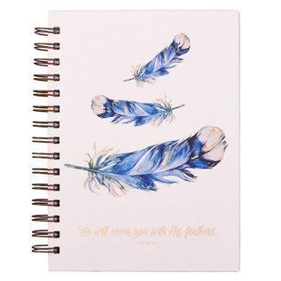 Journal - Feathers, Wirebound