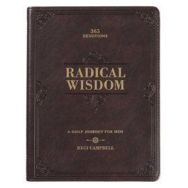 Devotional - Radical Wisdom for Men, Faux Leather