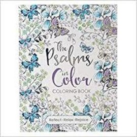 Coloring Book - The Psalms in Color