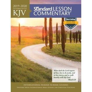 KJV Standard Lesson Commentary 2019-2020, Paperback