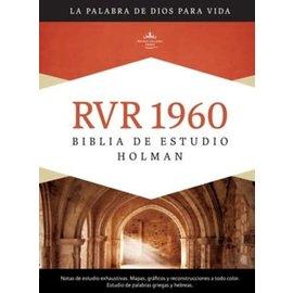 RVR Biblia de Estudio, Hardcover Indexed