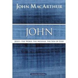 MacArthur Bible Studies: John (John MacArthur), Paperback