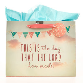 Gift Bag - This is the Day, Large