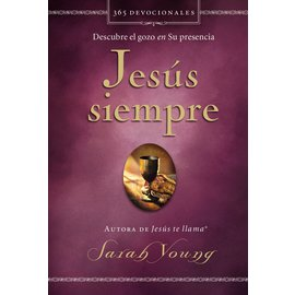 Jesus Siempre (Jesus Calling, Spanish) (Sarah Young), Hardcover