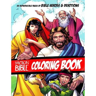 Coloring Book - The Action Bible