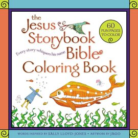 The Jesus Storybook Bible Coloring Book, Paperback