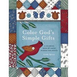 Coloring Book - Color God's Simple Gifts