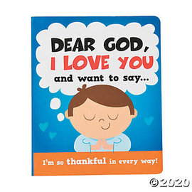 Mini Board Book - Dear God, I Love You