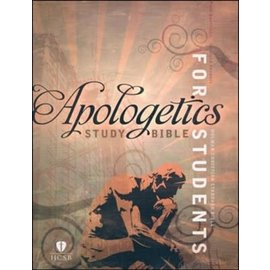 HCSB Apologetics Study Bible for Students, Green LeatherTouch