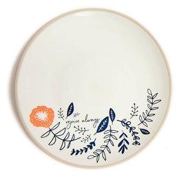 "Plate - Rejoice Always (7.7"")"