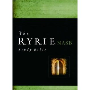 NASB Ryrie Study Bible, Black Genuine Leather
