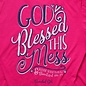 T-shirt - CG God Blessed Mess
