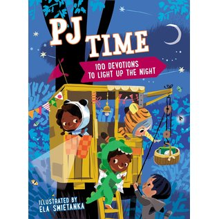 PJ Time: 100 Devotions to Light Up the Night, Hardcover