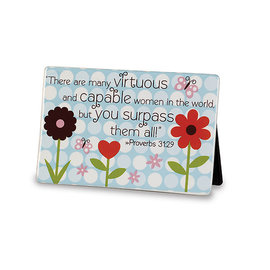 Plaque - Virtuous & Capable Women (Mom)