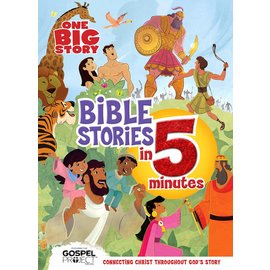 One Big Story: Bible Stories in 5 Minutes, Hardcover