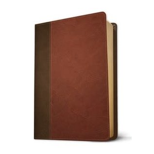 NIV Life Application Study Bible 3, Brown/Tan LeatherLike