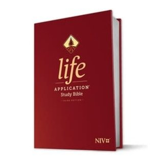 NIV Life Application Study Bible 3, Hardcover