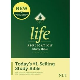 NLT Life Application Study Bible 3, Hardcover