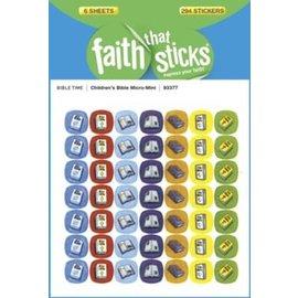 Stickers - Children's Bible, Micro-Mini (6 Sheets)