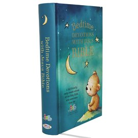 ICB Bedtime Devotions with Jesus Bible, Hardcover