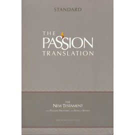 The Passion Translation New Testament with Psalms, Proverbs, & Song of Songs, Gray Faux Leather