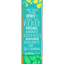 Bookmarks: Fruit of the Spirit (Kids) (Galatians 5:22-23 CSB) (Pack Of 25)