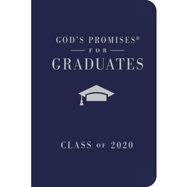 God's Promises for Graduates, Class of 2020, NKJV Navy Leathersoft over Hardcover