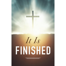 Good News Bulk Tracts: It Is Finished (KJV)