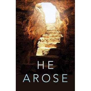 Good News Bulk Tracts: He Arose (KJV)
