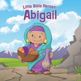 Little Bible Heroes: Abigail, Board Book