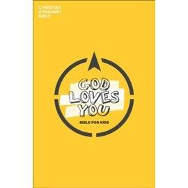 CSB God Loves You Bible for Kids, Paperback