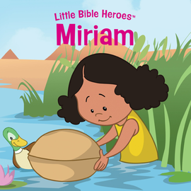 Little Bible Heroes: Miriam, Board Book