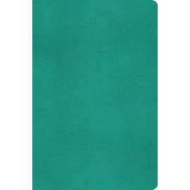 ESV Value Compact Bible, Turquoise TruTone