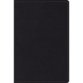 ESV Gospel Transformation Study Bible, Black Topgrain Genuine Leather
